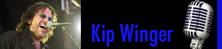 Banner with Photo of Kip Winger linking to interview