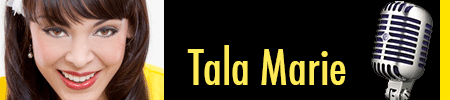 Banner with photo of Tala linking to interview